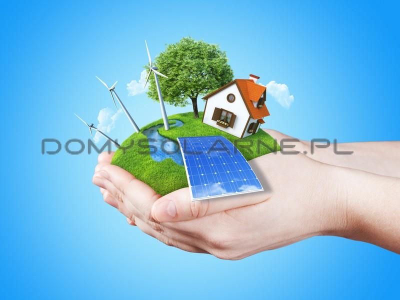 Domy solarne - energia fotowoltaiczna na własny użytek